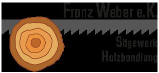 Sägewerk Weber